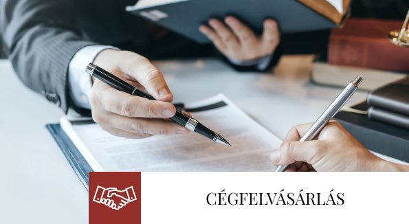 Bóné Ügyvédi Iroda jogi szakterületek - cégfelvásárlás