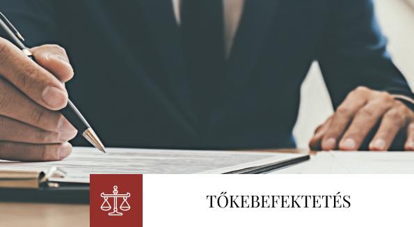 Bóné Ügyvédi Iroda, befektetések, kockázati tőke, private equity